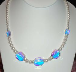 Swarovski Graphic Crystal Necklace